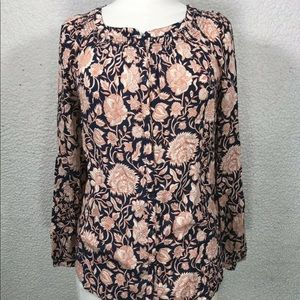 Floral hobo blouse